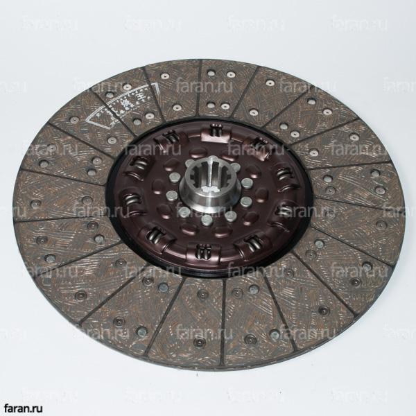 диск сцепления для HIGER KLQ 6119, KLQ 6129, KLQ 6118, KLQ 6928