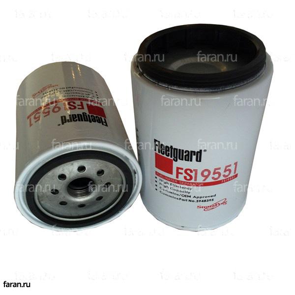 Фильтр топливный грубой очистки (FS19551)